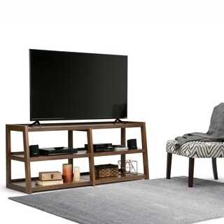 WYNDENHALL Hawkins 60-inch Wide TV Media Stand for up to 66-inch TV's