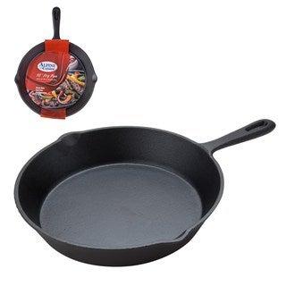 Black Cast Iron 10-inch Fry Pan