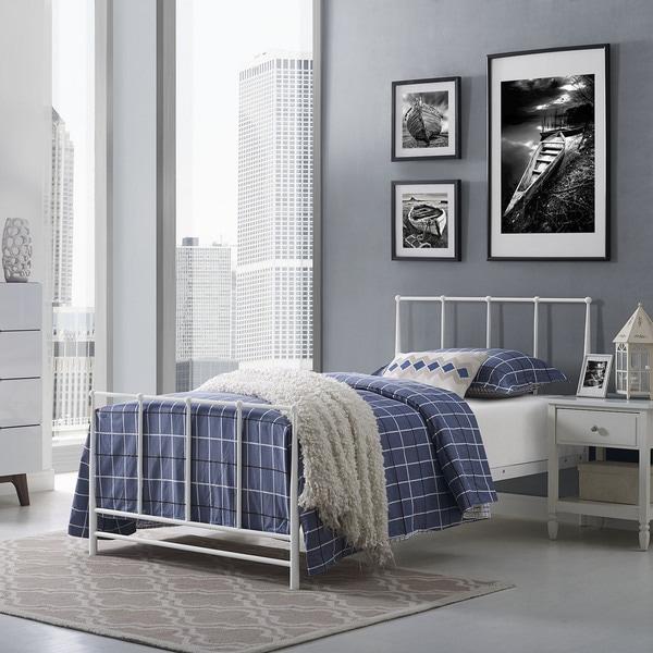 Taylor & Olive Fitchville Estate Bed in White