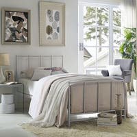 The Gray Barn Possum Estate Grey Steel Platform Bed