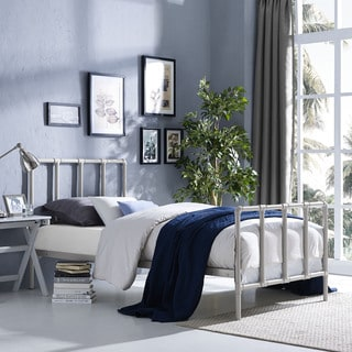 Dower Bed in Grey