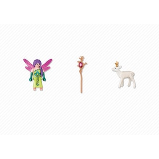 PlayMobil Fairy with Deer Playset