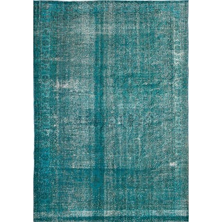 ecarpetgallery Hand-Knotted Color Transition Green Wool Rug (7'3 x 10'6)
