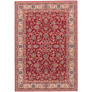 ecarpetgallery Royale Red Wool Rug (4'7 x 6'7)