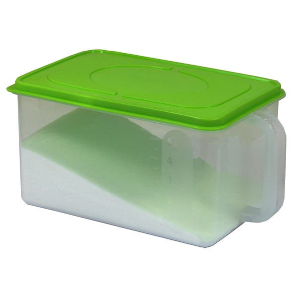 Shop Basicware Clear Plastic Sealed Kitchen Container With ...