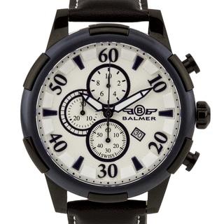 Balmer Mulsanne Swiss Chronograph Men's Watch Textured Dial Luminescent Hands