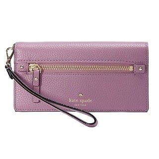 kate spade new york Cobble Hill Rae Rum Raisin Wristlet