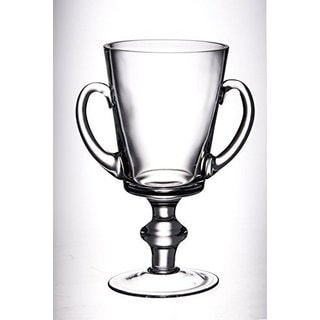 Majestic Gifts Quality Glass Trophy with Handles