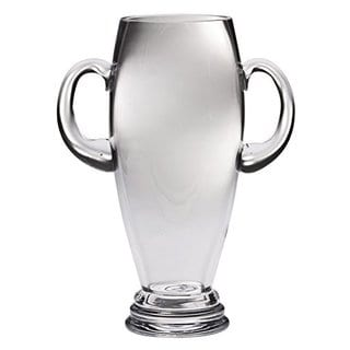 Majestic Gifts Clear Glass Trophy with Handles