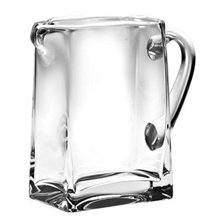 Majestic Gifts Clear Glass 43-ounce Rectangular Pitcher