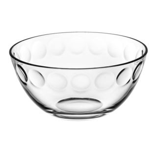 Majestic Gifts Quality Clear Glass 9-inch Diameter Bowl