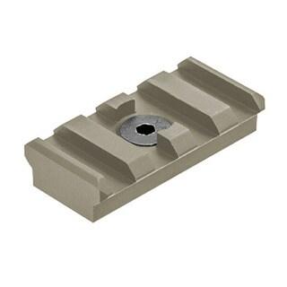 Leapers Inc. Flat Dark Earth Aluminum UTG Pro M-LOK Picatinny 4-slot Rail Section