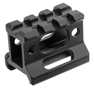 Leapers Inc. UTG Super Slim Black 1-inch High 3-slot Picatinny Riser Mount