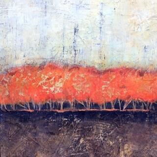 Art in Style 'Autumn Forest Orange' Giclee Canvas Art