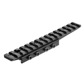 Leapers Inc. Black Aluminum UTG Universal Dovetail to Picatinny Rail Adaptor