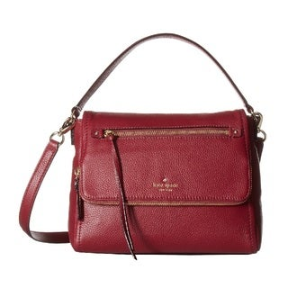 Kate Spade Cobble Hill Small Merlot Toddy Handbag