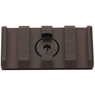 Leapers Inc. UTG Pro Black Aluminum M-LOK Picatinny 4-slot Rail Section