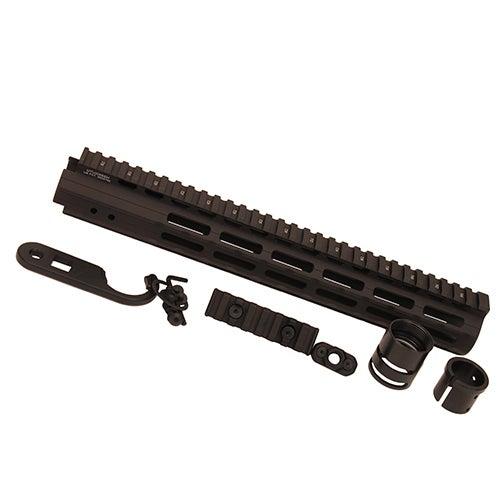 Leapers Inc. UTG Pro M-LOK AR15 Black 13-inch Super-slim Free-float Handguard