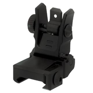Leapers Inc. Black Aluminum Low-profile Flip-up Rear Sight