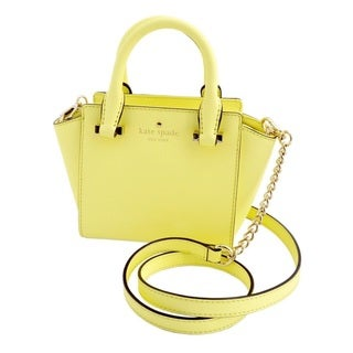 Kate Spade Cedar Street Mini Hayden Lemonade Satchel Handbag