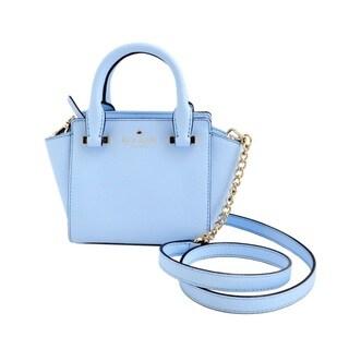 Kate Spade Cedar Street Mini Hayden Sky Blue Satchel Handbag