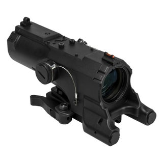 NcStar ECO MOD2 Black Anodized Aluminum Urban Tactical Reticle Blue and Red Illuminated Scope