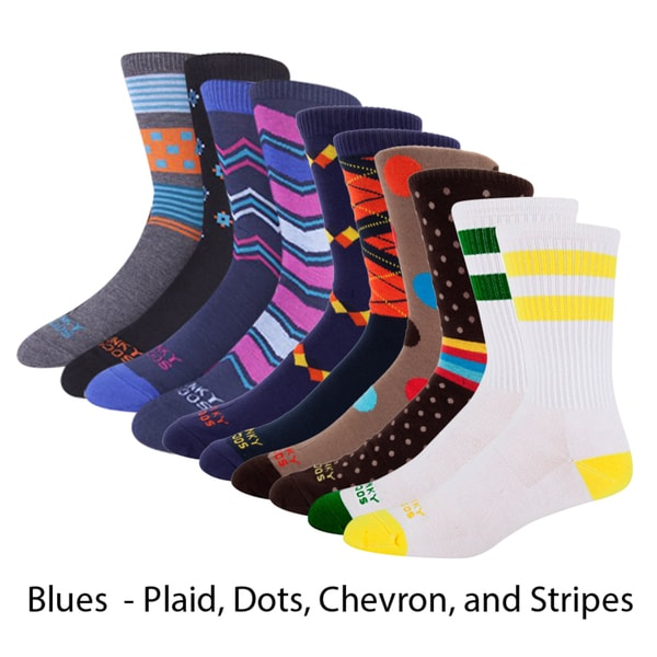 Soft Toe Socks With Assorted Striped Designs,One Size Fits All Pack of 12