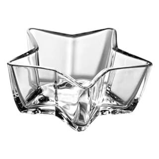 Majestic Gifts Clear Glass 7.1-inch Star-shaped Bowl