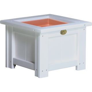 """Poly Furniture Wood 15"""" Square Planter"""