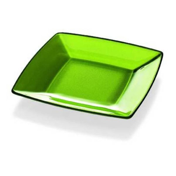 Majestic Gifts Green Glass 5.9-inch Plate
