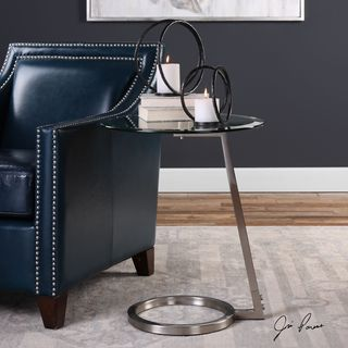 Uttermost Ordino Modern Accent Table