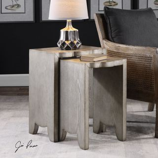 Uttermost Imala Natural Ash Nesting Tables (Set of 2)