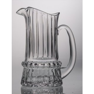 Majestic Gifts Clear Hand-cut Crystal Glass 44-ounce Pitcher