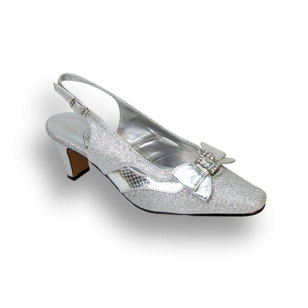 2e27d6da010f FIC FLORAL Women s Cultured Pearl Extra Wide Width Slingback Heels ...