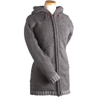 Laundromat Women's Edelweiss Grey Wool Sweater
