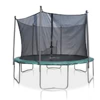 Furinno Black/Blue Steel Thickly Paded 6-leg Trampoline