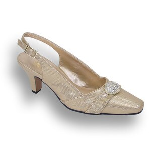 FIC FLORAL Women's Eva Extra Wide Width Heels
