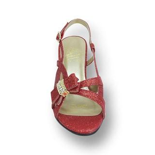FIC FLORAL Women's Pixie Extra Wide Width Heel