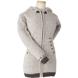 Laundromat Women's Edelweiss Beige Wool Sweater (2 options available)