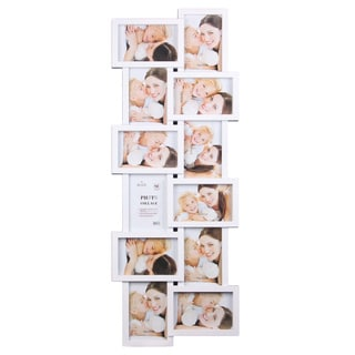 Wee's Beyond 2897-WHT 12-photo Collage Frame