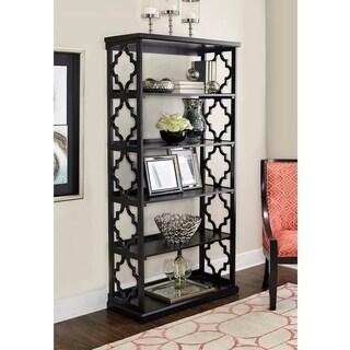Turner Black Bookcase