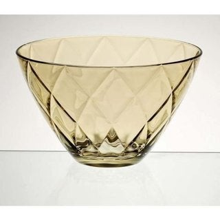 Majestic Gifts Amber Glass 9.8-inch Bowl