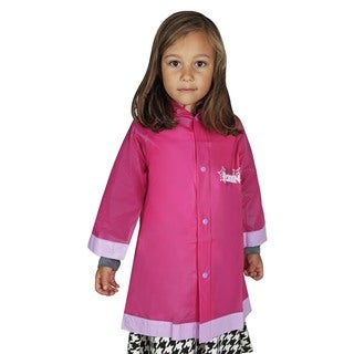 Disney 'Frozen' Girls' Pink Rain Slicker