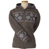 Laundromat Daphne Grey Wool Sweater