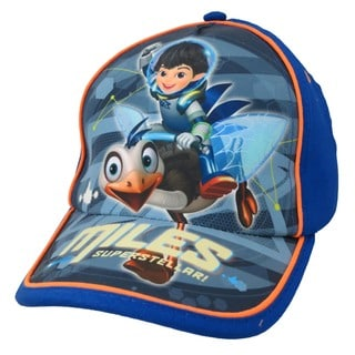 Disney Boys' Miles From Tomorrowland Blue Cotton Baseball Cap