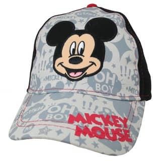 Disney Boys' Mickey Mouse Cotton Baseball Cap https://ak1.ostkcdn.com/images/products/13689609/P20352797.jpg?impolicy=medium