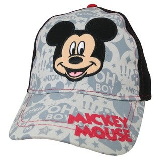Disney Boys' Mickey Mouse Cotton Baseball Cap