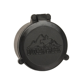 Butler Creek Flip-open Black Plastic Objective Size 20 Scope Cover