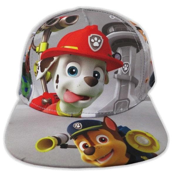 Shop Nickelodeon Toddler Boys Paw Patrol Grey Cotton Baseball Cap ... a6f32a2abb06