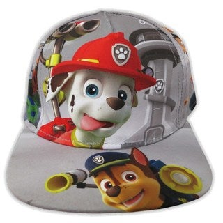 Nickelodeon Toddler Boys Paw Patrol Grey Cotton Baseball Cap